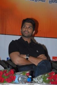 Allu Arjun at Sukumarudu Triple Platinum Disc Function Photos