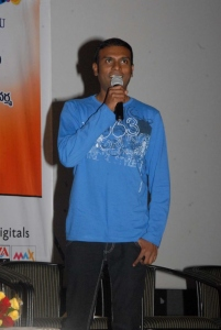 Music Director Achu Rajamani at Sukumarudu Triple Platinum Disc Function Photos