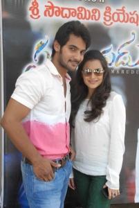 Aadi, Nisha Agarwal @ Sukumarudu Triple Platinum Disc Function Photos