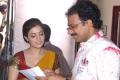 Nisha Agarwal, G.Ashok at Sukumarudu Movie Working Stills