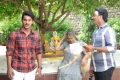 Aadhi, Sharada, G.Ashok at Sukumarudu Movie Working Stills