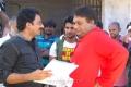 G.Ashok, Jayaprakash Reddy at Sukumarudu Movie Working Stills