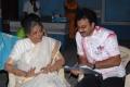 Actress Sharada, G.Ashok at Sukumarudu Movie Working Stills