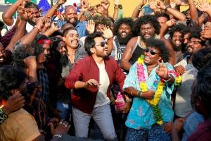 Karthi, Yogi Babu in Sultan Movie Images HD