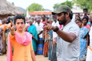 Actress Rashmika Mandanna in Sultan Movie Images HD