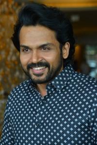 Actor Karthi Sultan Movie Interview Stills