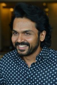 Sultan Movie Karthi Interview Stills