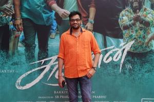 Editor Ruben @ Sultan Movie Press Meet Stills