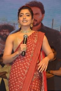 Actress Rashmika Mandanna @ Sulthan Movie Pre-Release Event Stills