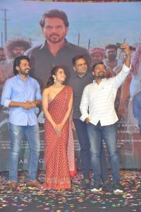 Karthi, Rashmika Mandanna @ Sulthan Movie Pre-Release Event Stills