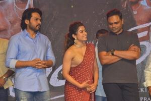 Karthi, Rashmika, Vamsi Paidipally @ Sulthan Movie Pre-Release Event Stills