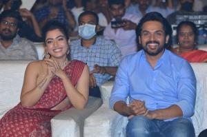 Rashmika Mandanna, Karthi @ Sulthan Movie Pre-Release Event Stills