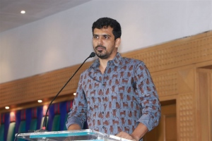 Producer SR Prabhu @ Sulthan Movie Thanks Meet Stills