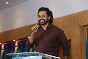 Actor Karthi @ Sulthan Movie Thanks Meet Stills