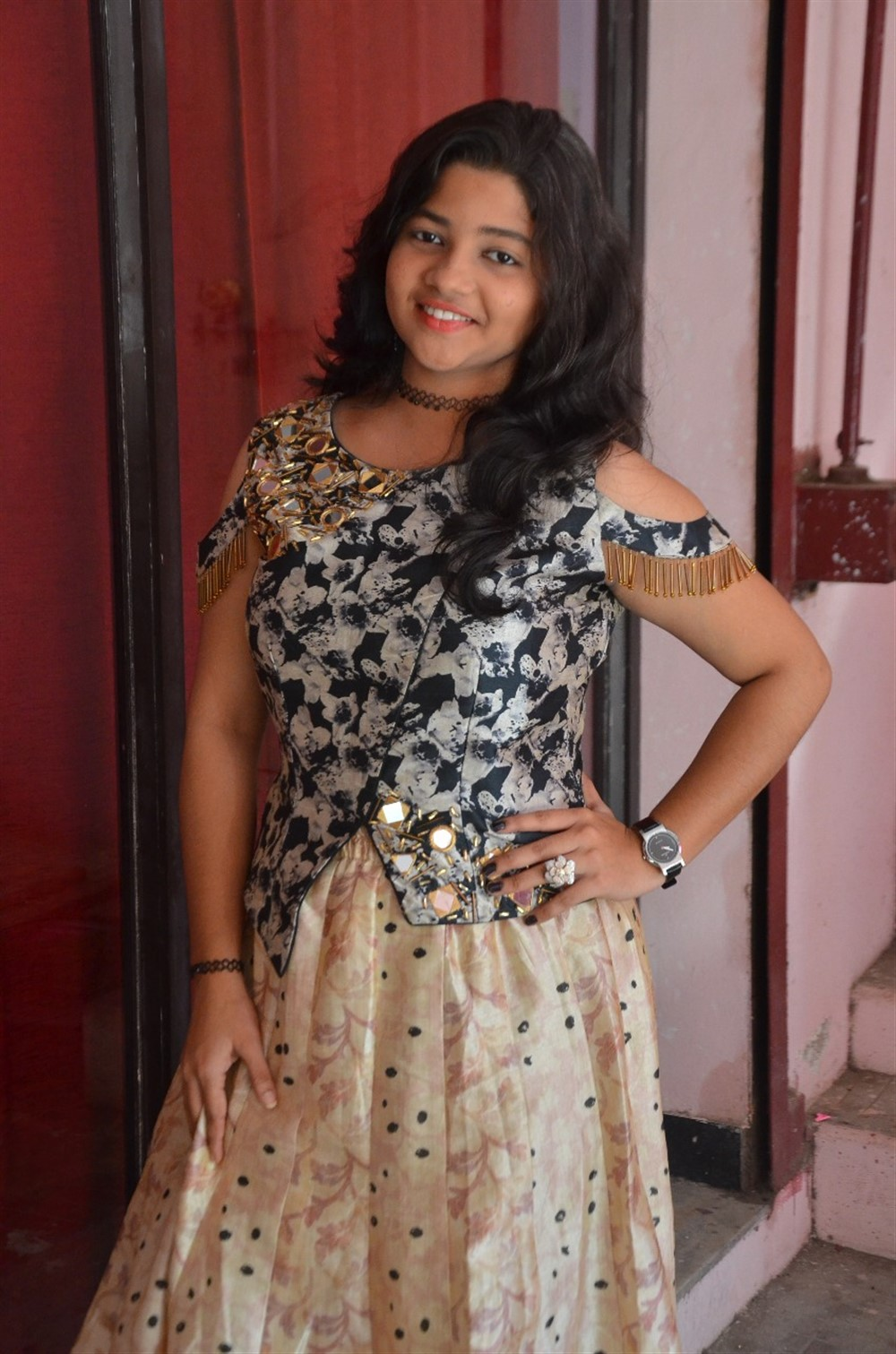 Actress Shailaja @ Sumana Valli Movie Press Meet Stills