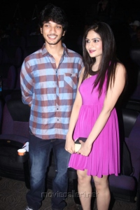 Gautham Karthik, Vibha at Summa Nachunu Iruku Audio Release Photos