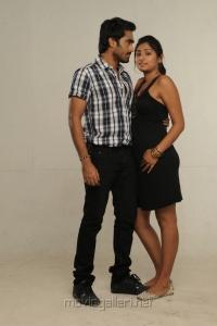 Thaman Kumar, Archana in Summa Nachunu Iruku Movie Stills