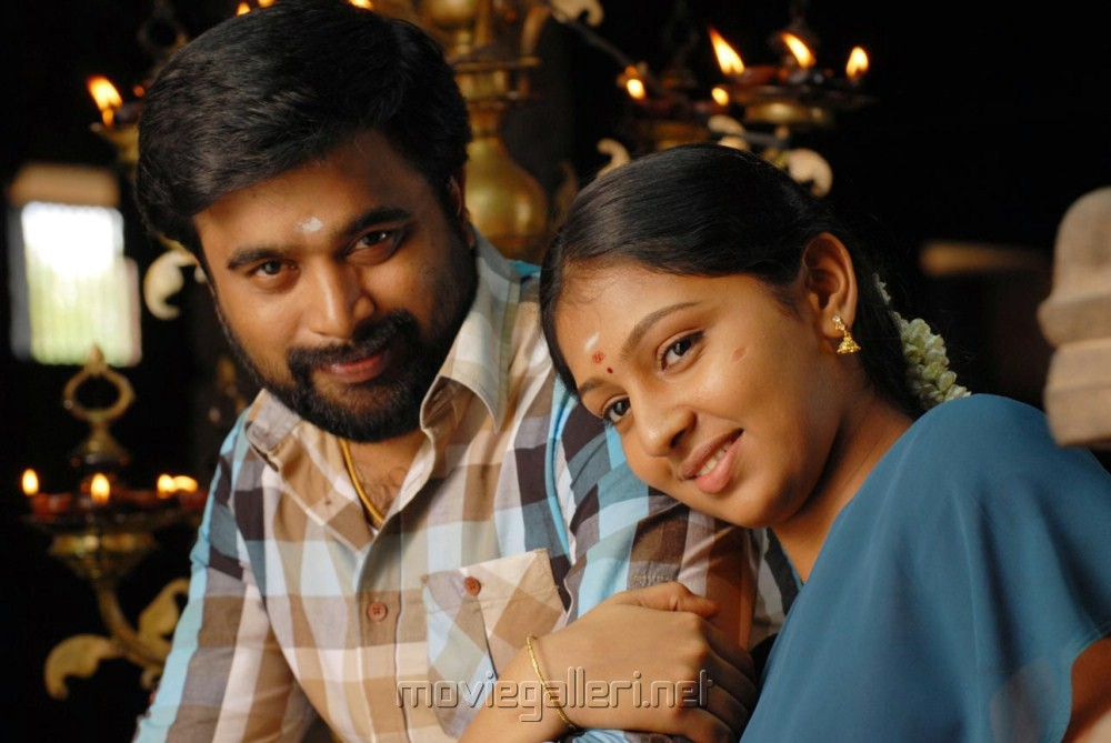 Sasikumar, Lakshmi Menon in Sundarapandian Movie Stills