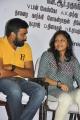 Sasikumar, Lakshmi Menon at Sundarapandian Press Meet Stills