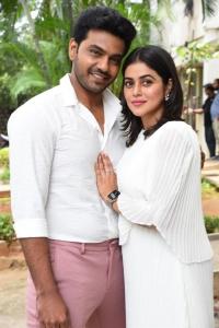 Arjun Ambati, Poorna @ Sundari Movie Press Meet Stills