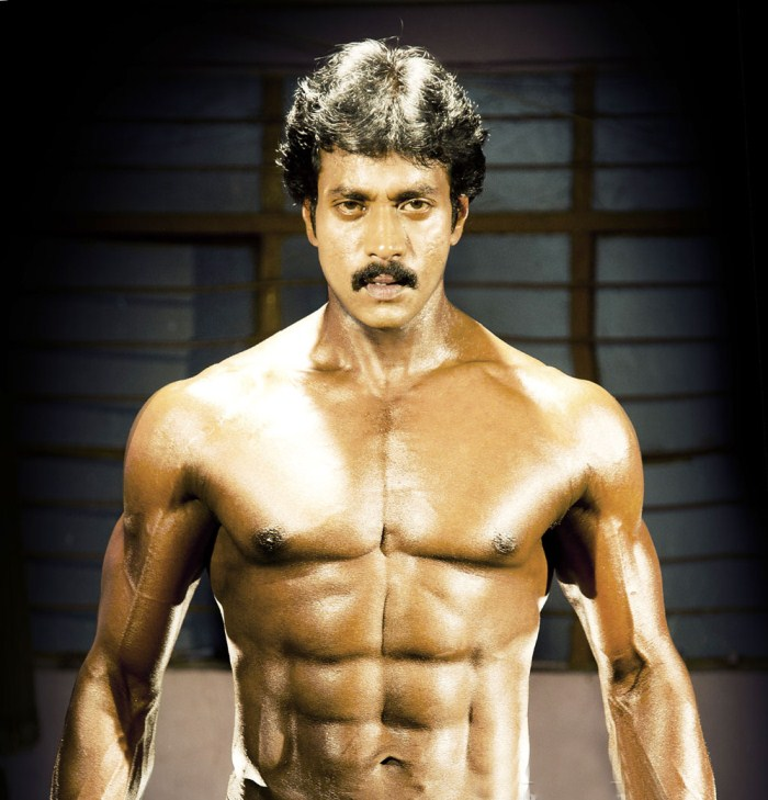 Actor Arya Six Pack Sunil  actor