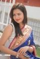 Actress Sunita Rana Blue Saree Photos at Aa Aiduguru Movie Launch