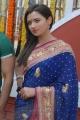 Telugu Actress Sunita Rana Photos in Beautiful Blue Saree