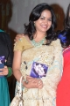 Singer Sunitha in Saree Cute Photos
