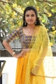 Brandy Diaries Movie Actress Sunitha Sadguru Stills in Yellow Churidar Dress