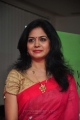 Singer Sunitha Latest Saree Stills @ @ Big Green Ganesha 2013 Launch