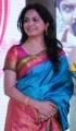 Telugu Singer Sunitha in Silk Saree Photos