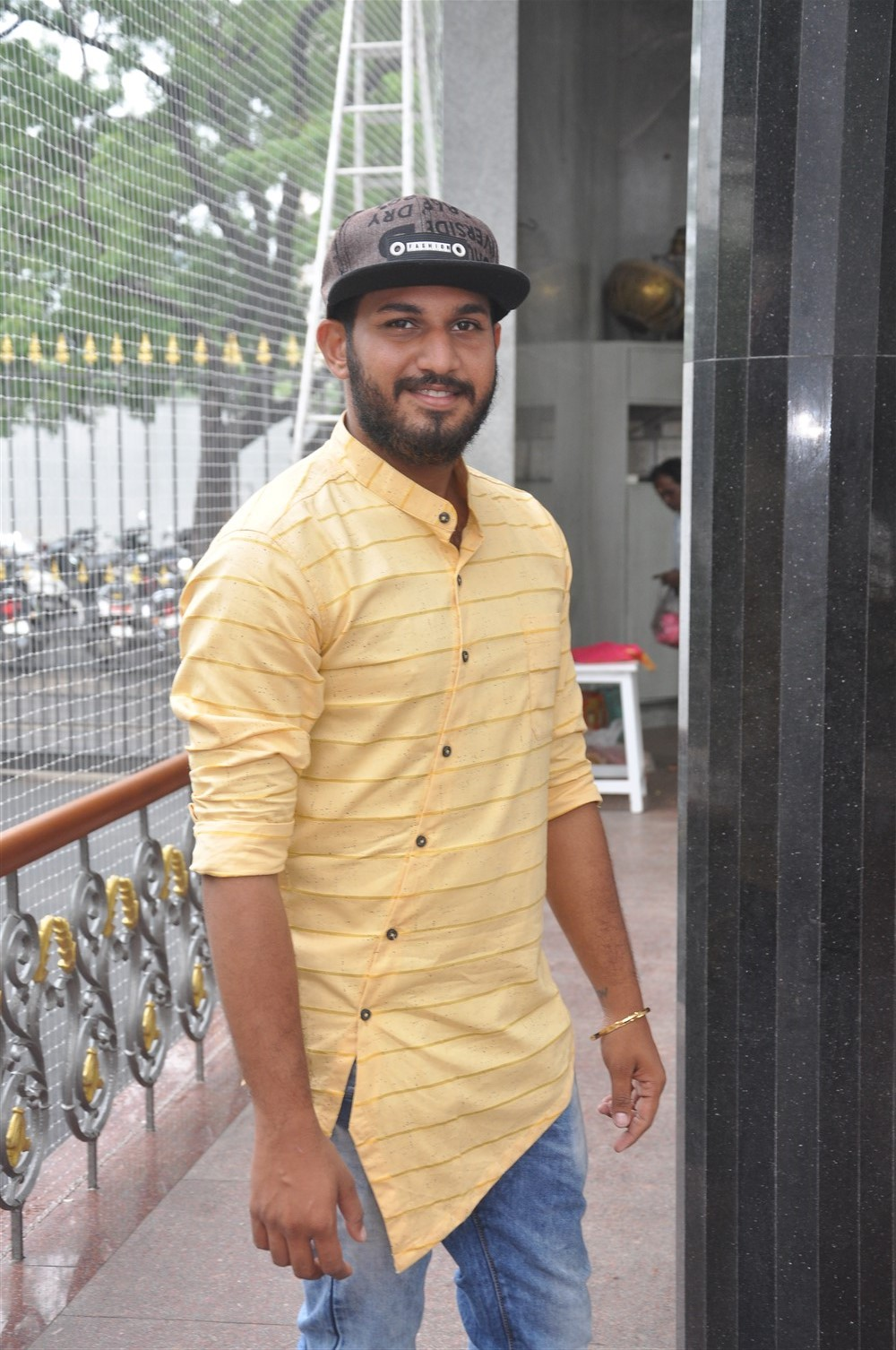 Vijay Karthikeyan @ Super Ponnu Sumarana Paiyan Movie Launch Stills