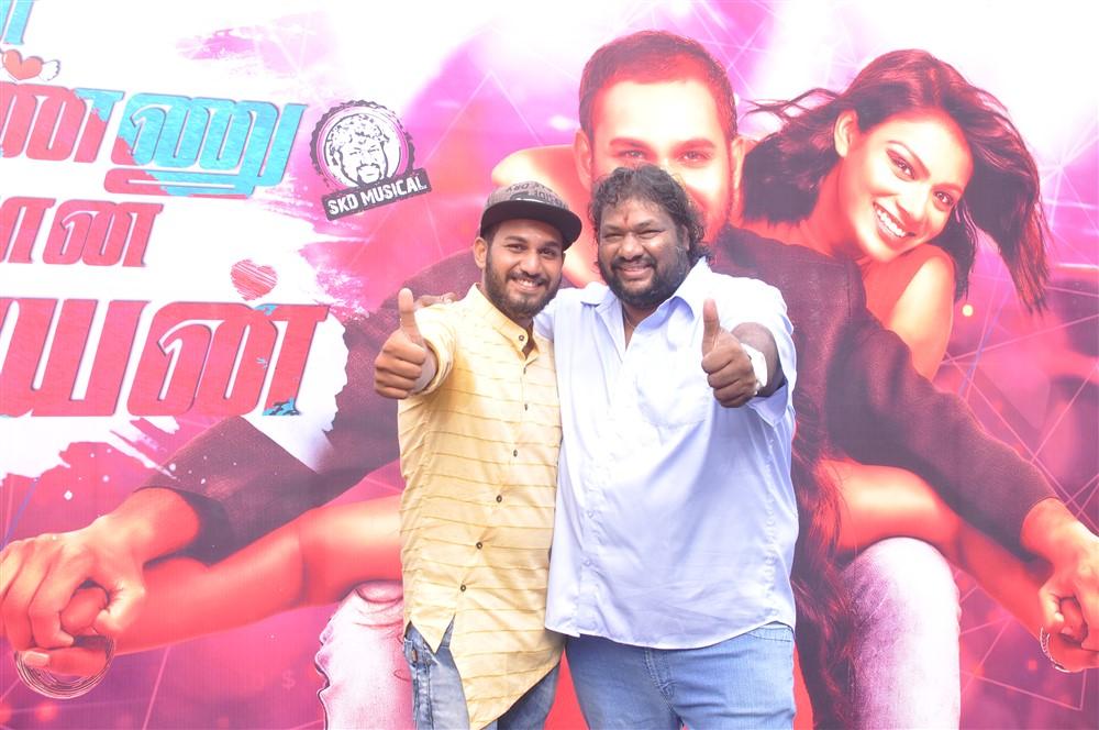 Vijay Karthikeyan, Srikanth Deva @ Super Ponnu Sumarana Paiyan Movie Launch Stills