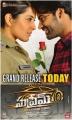 Raashi Khanna, Sai Dharam Tej in Supreme Movie Release Posters