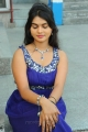 Telugu Actress Supriya Hot Photos in Blue Sleeveless Dress