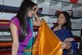 Supriya Sailaja at Silk Sarees Festival