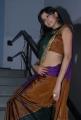 Supriya Shailja in Saree @ Rushi Audio Release