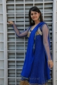 Telugu Actress Surabhi in Blue Churidar Stills