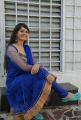 Telugu Actress Surabhi in Blue Churidar Photoshoot Gallery