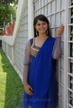 Telugu Actress Surabhi Stills in Blue Churidar