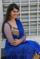 A Vachi B Pai Vaale Actress Surabhi Stills in Blue Churidar