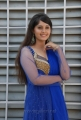 Telugu Actress Surabhi in Blue Churidar Cute Stills