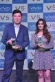Actress Surabhi unveils Vivo Global's V5 Smartphone Photos