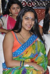 Surekha Vani in Saree Hot Stills at Saradaga Ammaitho Audio Launch