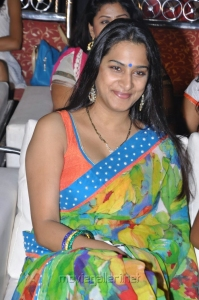 Surekha Vani Hot Saree Stills at Saradaga Ammaitho Audio Launch