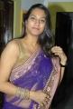 Telugu Actress Surekha Vani Hot Saree Photos
