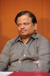 Director KV Anand @ Suriya Kajal Agarwal Movie Press Meet Stills
