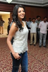 Suriya Kajal Agarwal Movie Press Meet Stills