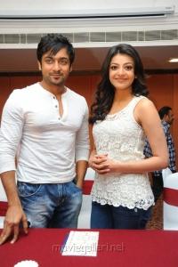 Actor Suriya and Kajal Agarwal Stills