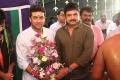 Subash Chandrabose @ Suriya Venkat Prabhu Movie Pooja Stills